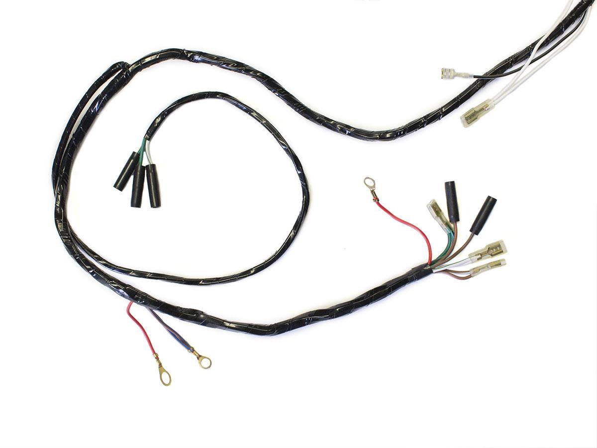 wire harness - triumph 3ta    5ta - 1964 to 1965