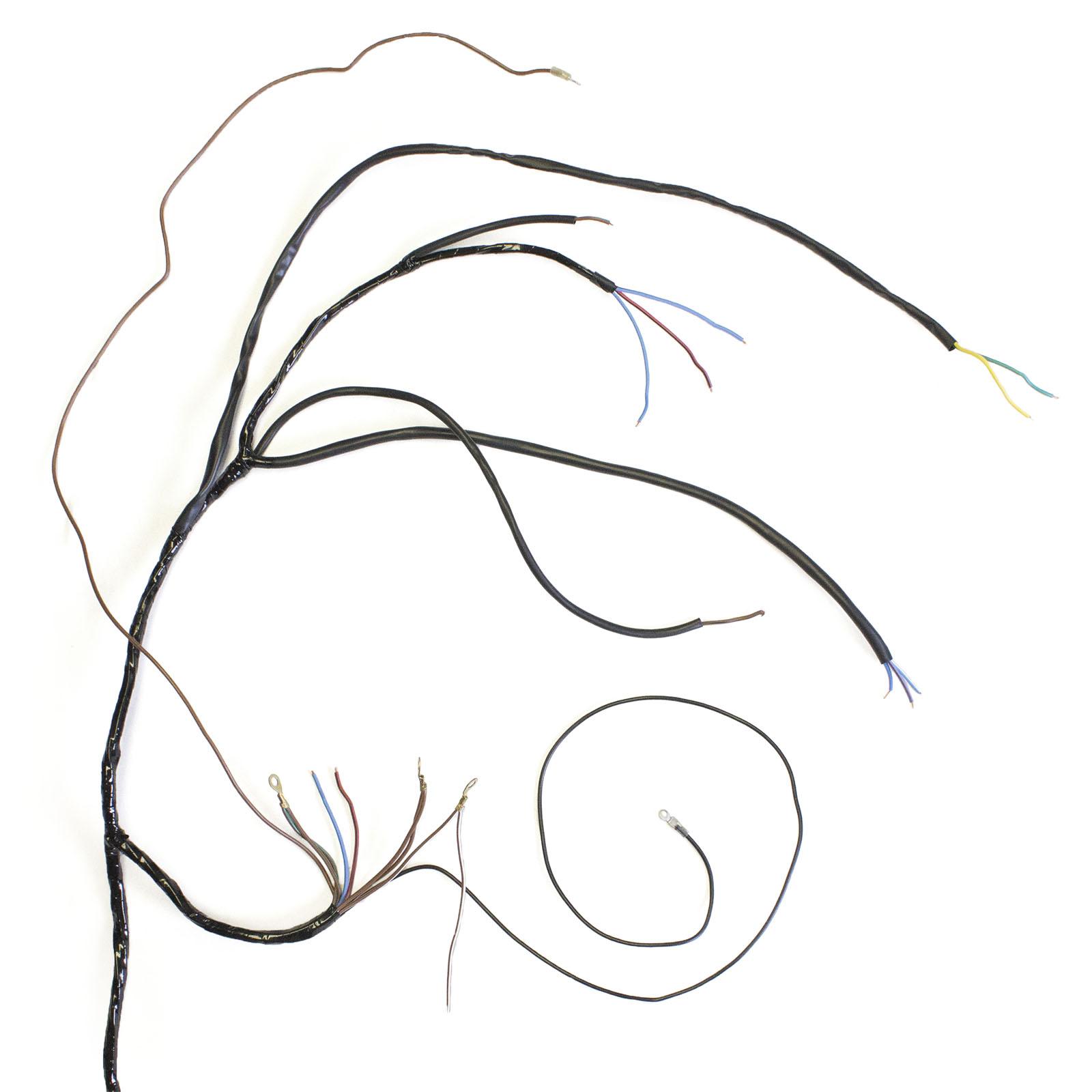 wire harness - triumph dynamo models
